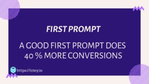 Why First Prompt is Essential ?